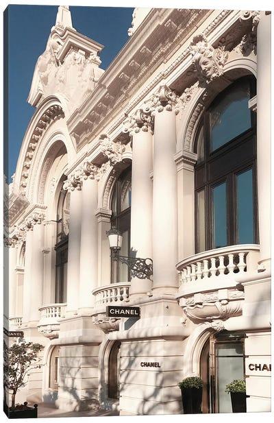 Chanel Store Monaco Canvas Art Print