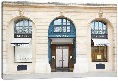 Chanel Store Place Vendôme Paris Canvas Art Print