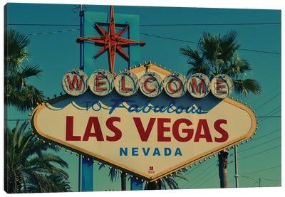 Las Vegas Sign Canvas Art Print