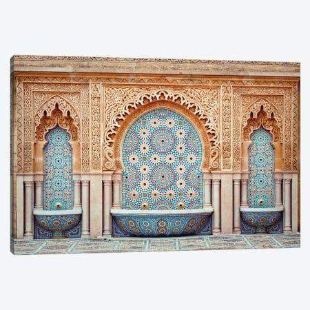 Moroccan Fountain Canvas Print #KMD80} by Karen Mandau Canvas Print