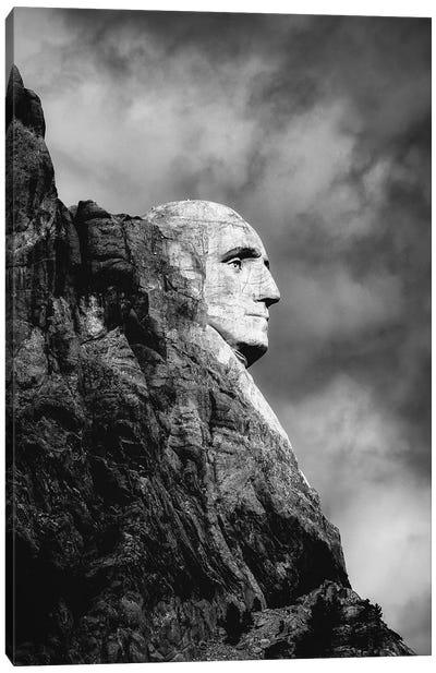 Mount Rushmore George Washington Portrait Canvas Art Print