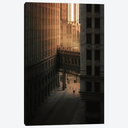New York Buildings Canvas Print #KMD85} by Karen Mandau Canvas Artwork