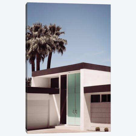 Palm Springs Door Canvas Print #KMD94} by Karen Mandau Canvas Print