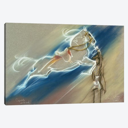 Capriole In Hand Canvas Print #KME23} by Kim McElroy Canvas Wall Art