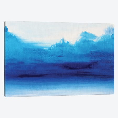 Deep Dieve Canvas Print #KMH108} by KR MOEHR Art Print