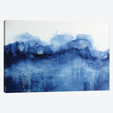 Arctic In Blue Canvas Print #KMH43} by KR MOEHR Canvas Print