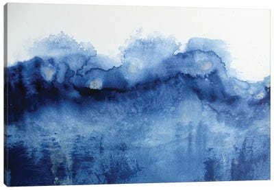 Arctic In Blue Canvas Art Print