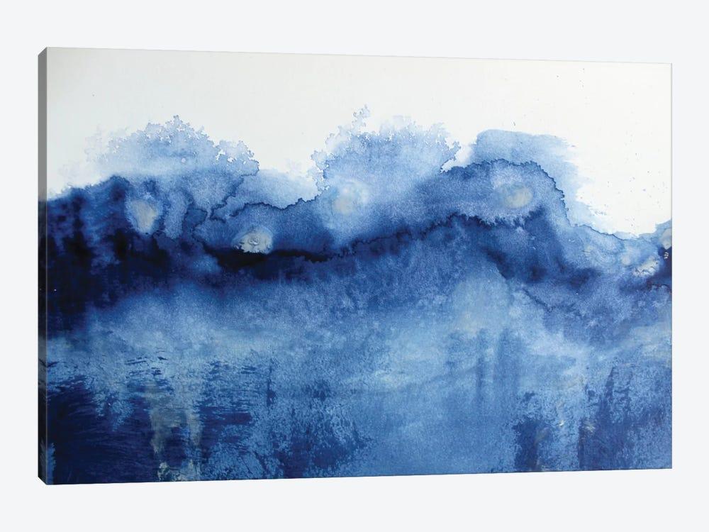 Arctic In Blue by KR MOEHR 1-piece Canvas Art Print