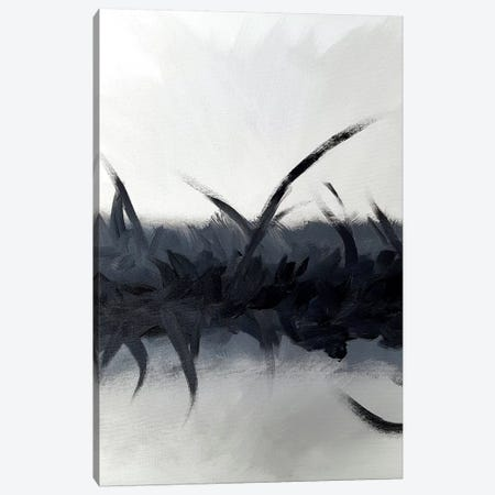 Bliss In Black Canvas Print #KMH5} by KR MOEHR Canvas Art