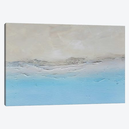 Waves Canvas Print #KMH70} by KR MOEHR Canvas Art