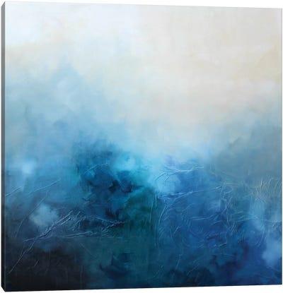 Blue Bliss Canvas Art Print