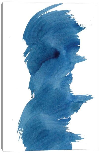 Blue Fevered I Canvas Art Print