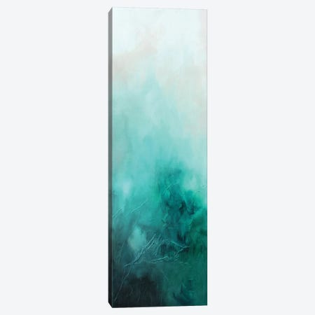 Teal Bliss Canvas Print #KMH79} by KR Moehr Canvas Art