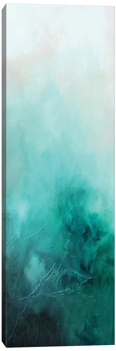 Teal Bliss Canvas Art Print
