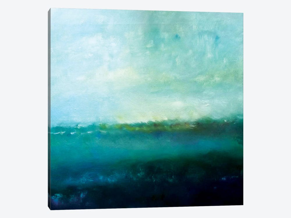 Blue Water by KR MOEHR 1-piece Canvas Art