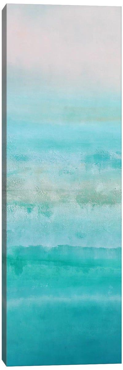Turquoise Sunrise Canvas Art Print
