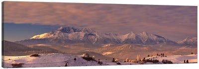 The Tatra Mountains Canvas Art Print
