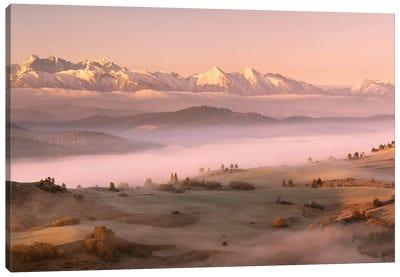 Fog Tatra Canvas Art Print