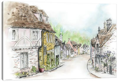 Village Canvas Art Print