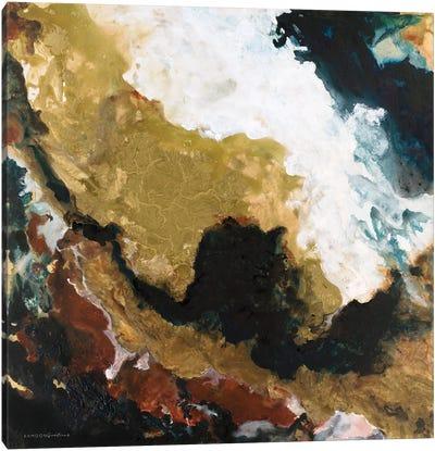 Dark Storm from Above Canvas Art Print