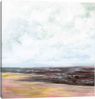 Fall At The Coast Canvas Art Print
