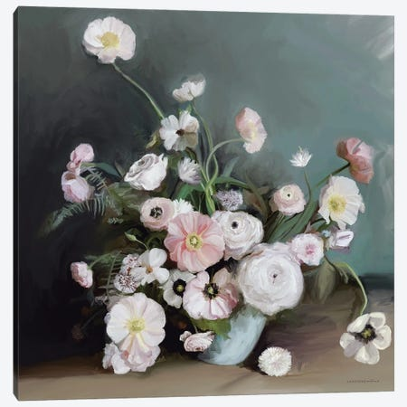 Picked From The Garden Canvas Print #KMK52} by Kamdon Kreations Canvas Art Print