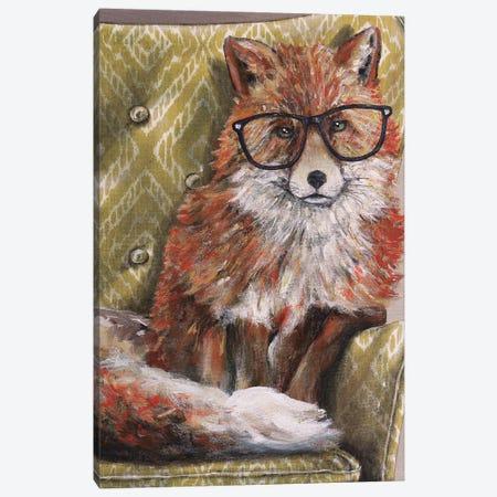 I'm so Foxie Canvas Print #KMK9} by Kamdon Kreations Canvas Artwork