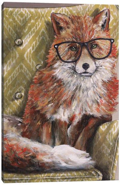 I'm so Foxie Canvas Art Print
