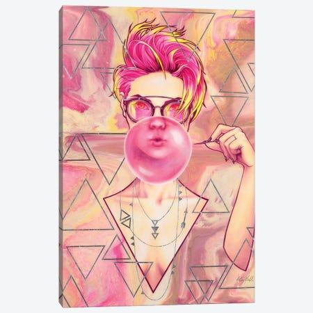 Bubblegum Canvas Print #KML15} by Kelsey Merkle Canvas Print