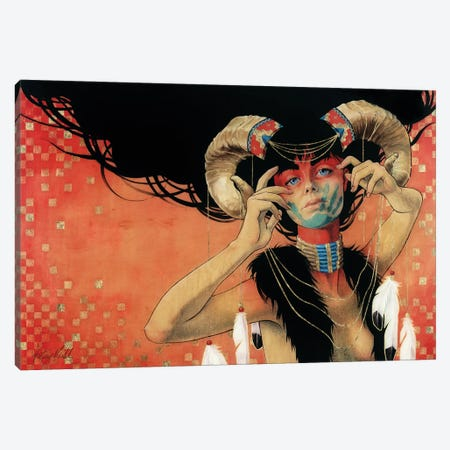 Rain Dance Canvas Print #KML17} by Kelsey Merkle Canvas Art Print