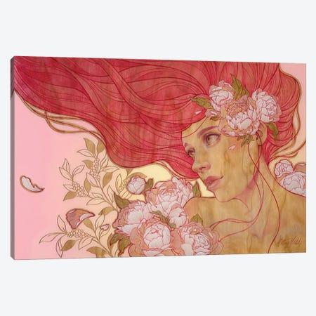 Peonies Canvas Print #KML19} by Kelsey Merkle Canvas Artwork