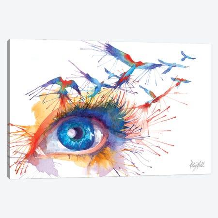 Birds Eye View Canvas Print #KML1} by Kelsey Merkle Canvas Print