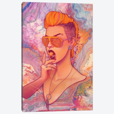 Lollipop Canvas Print #KML21} by Kelsey Merkle Art Print