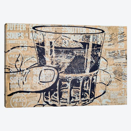 Sippin Canvas Print #KMR13} by Kyle Mosher Canvas Wall Art