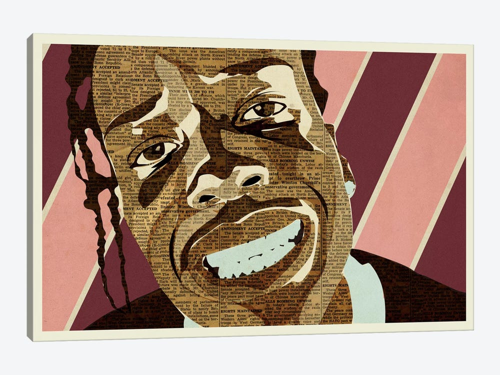 A$AP Rocky by Kyle Mosher 1-piece Canvas Print