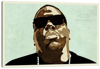 Biggie by Kyle Mosher Canvas Print