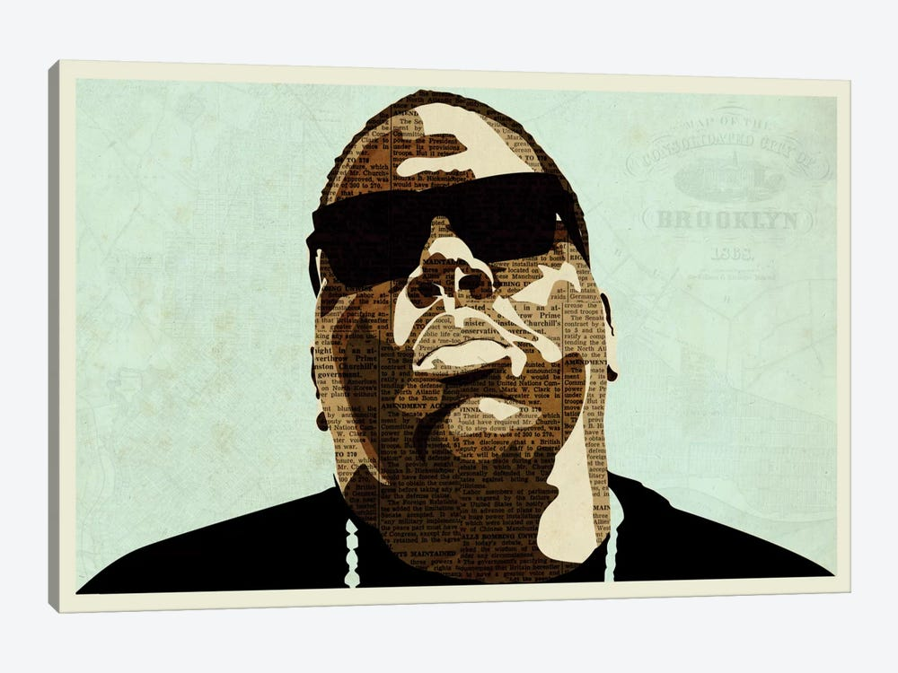 Biggie by Kyle Mosher 1-piece Canvas Art Print