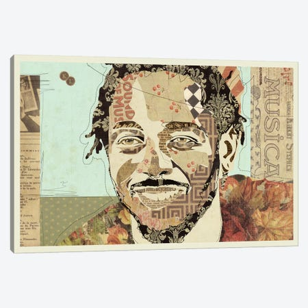 Kendrick Canvas Print #KMR30} by Kyle Mosher Canvas Wall Art