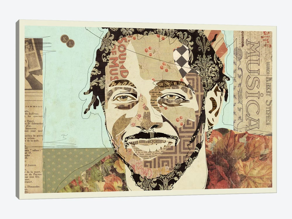 Kendrick by Kyle Mosher 1-piece Canvas Art