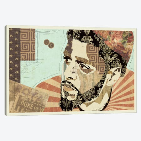 JCole Canvas Print #KMR31} by Kyle Mosher Canvas Wall Art