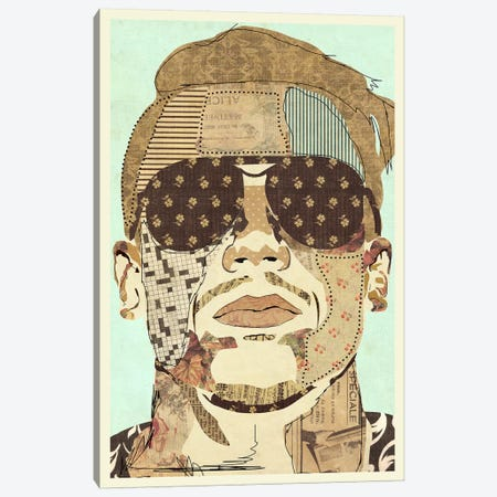 Macklemore 2015 Canvas Print #KMR35} by Kyle Mosher Art Print