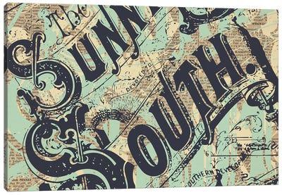 Sunny South Canvas Art Print