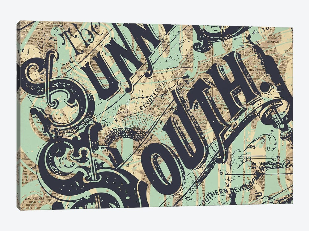Sunny South by Kyle Mosher 1-piece Art Print