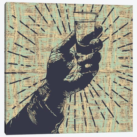 Shots! Shots! Shots! Canvas Print #KMR41} by Kyle Mosher Canvas Art Print