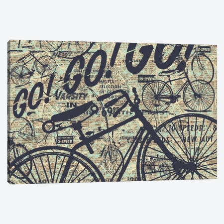 Go! Go! Go! Canvas Print #KMR43} by Kyle Mosher Canvas Print
