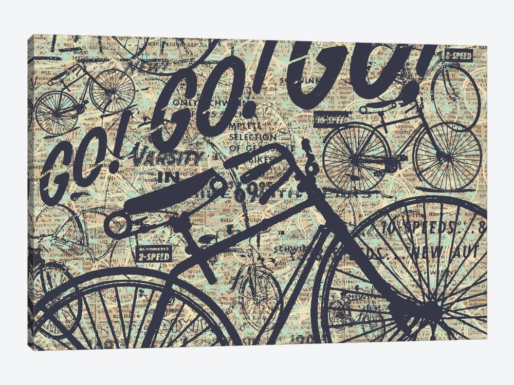 Go! Go! Go! by Kyle Mosher 1-piece Canvas Wall Art