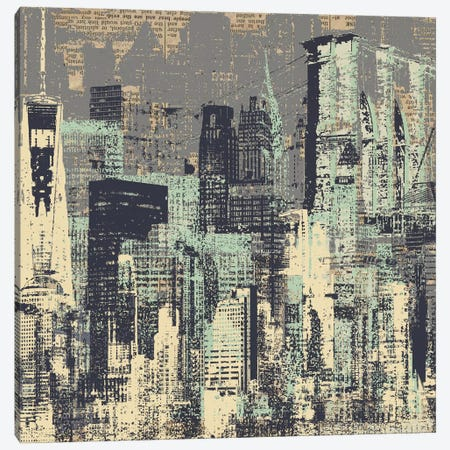 New York, New York Canvas Print #KMR45} by Kyle Mosher Canvas Artwork