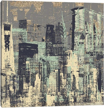 New York, New York Canvas Art Print