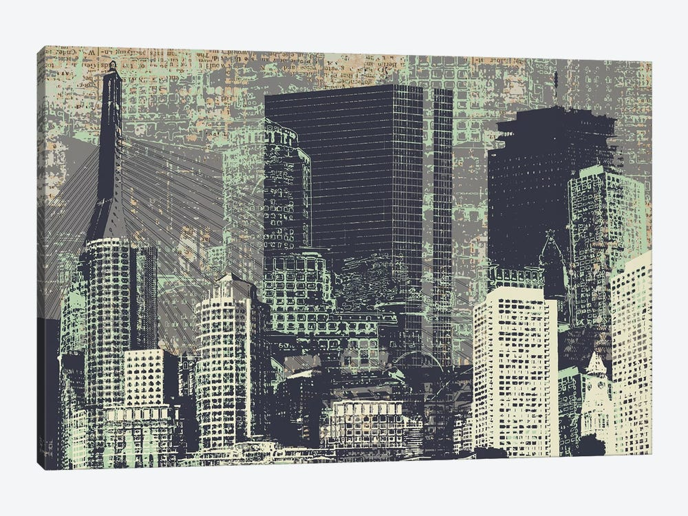 Beantown by Kyle Mosher 1-piece Canvas Print