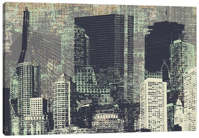 Beantown Canvas Art Print